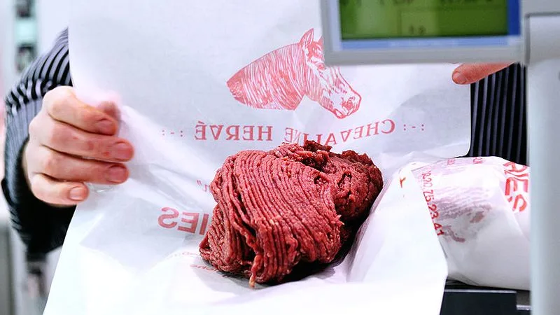 Ground Horse Meat. France. Vice.com.